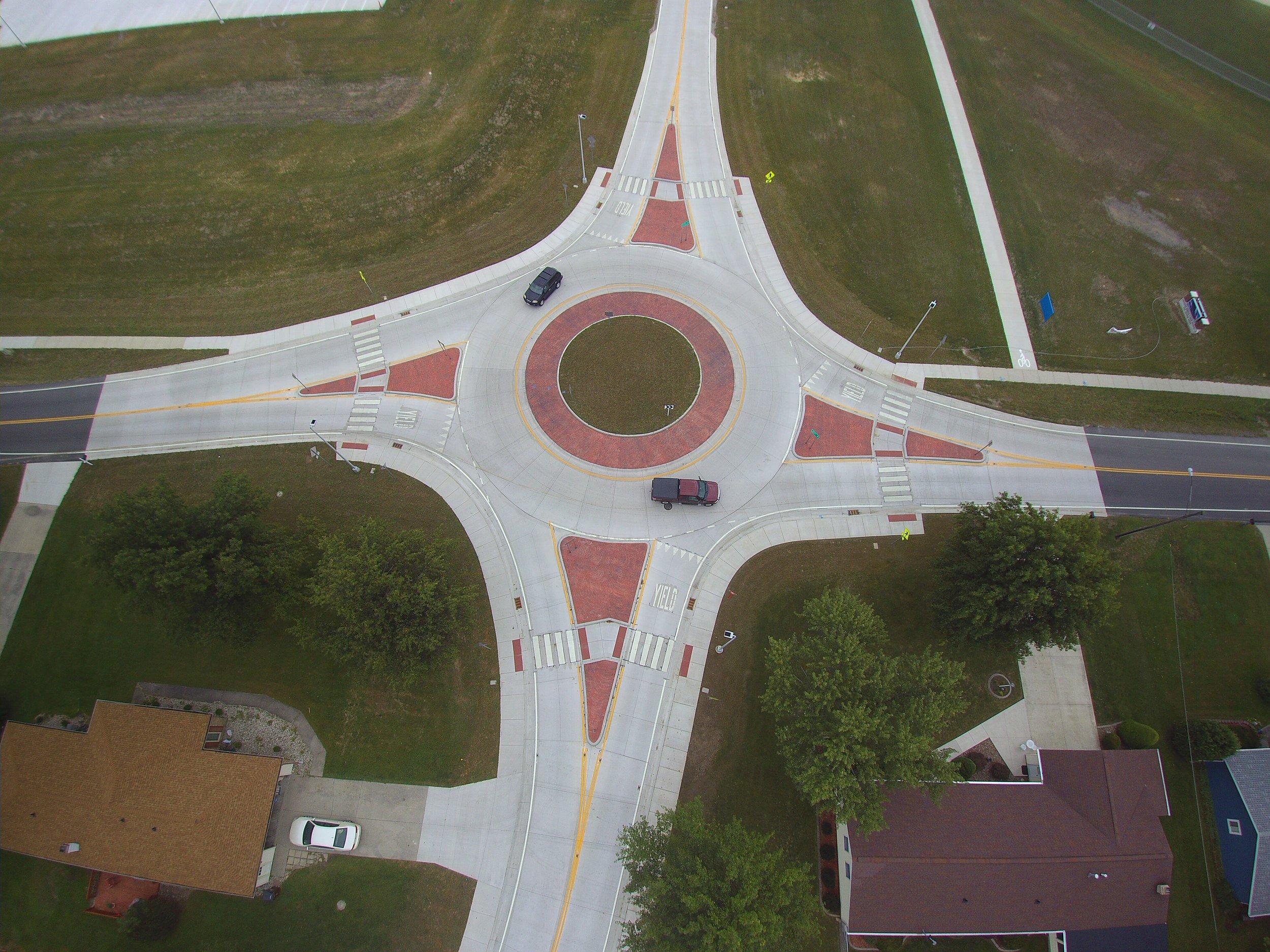 Defiance City schools roundabout
