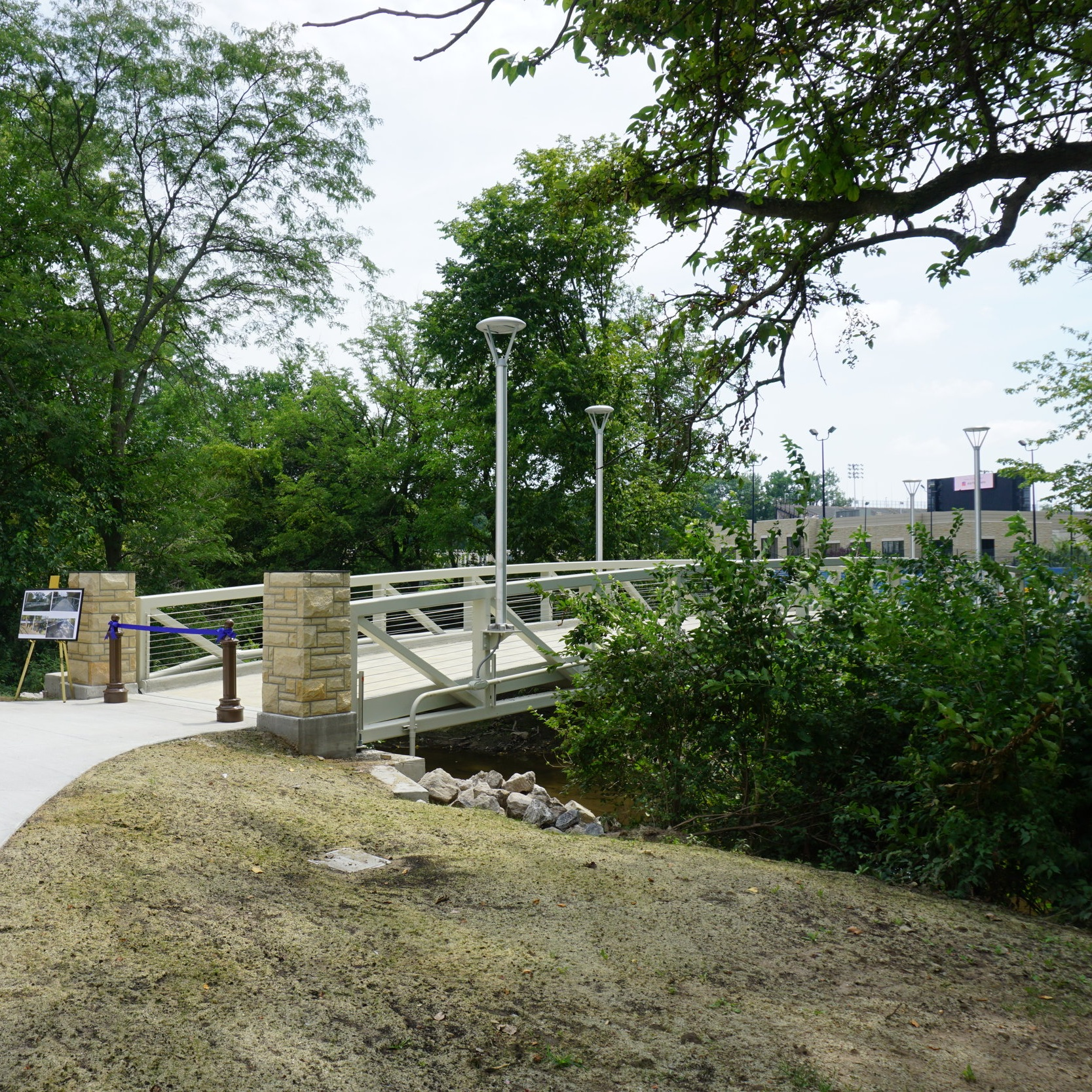 UT Carlson Library Bridge Replacement -