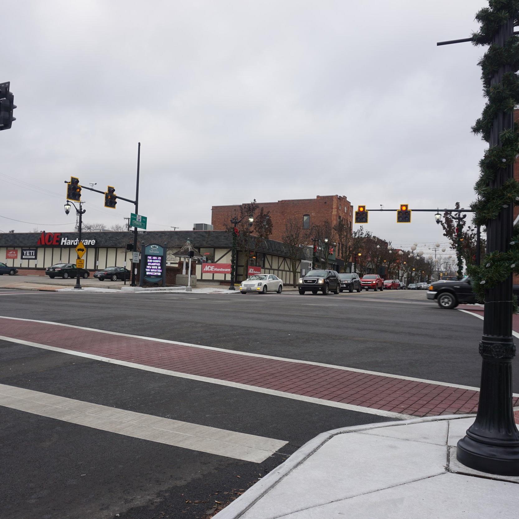 Sylvania Main Street Reconstruction -
