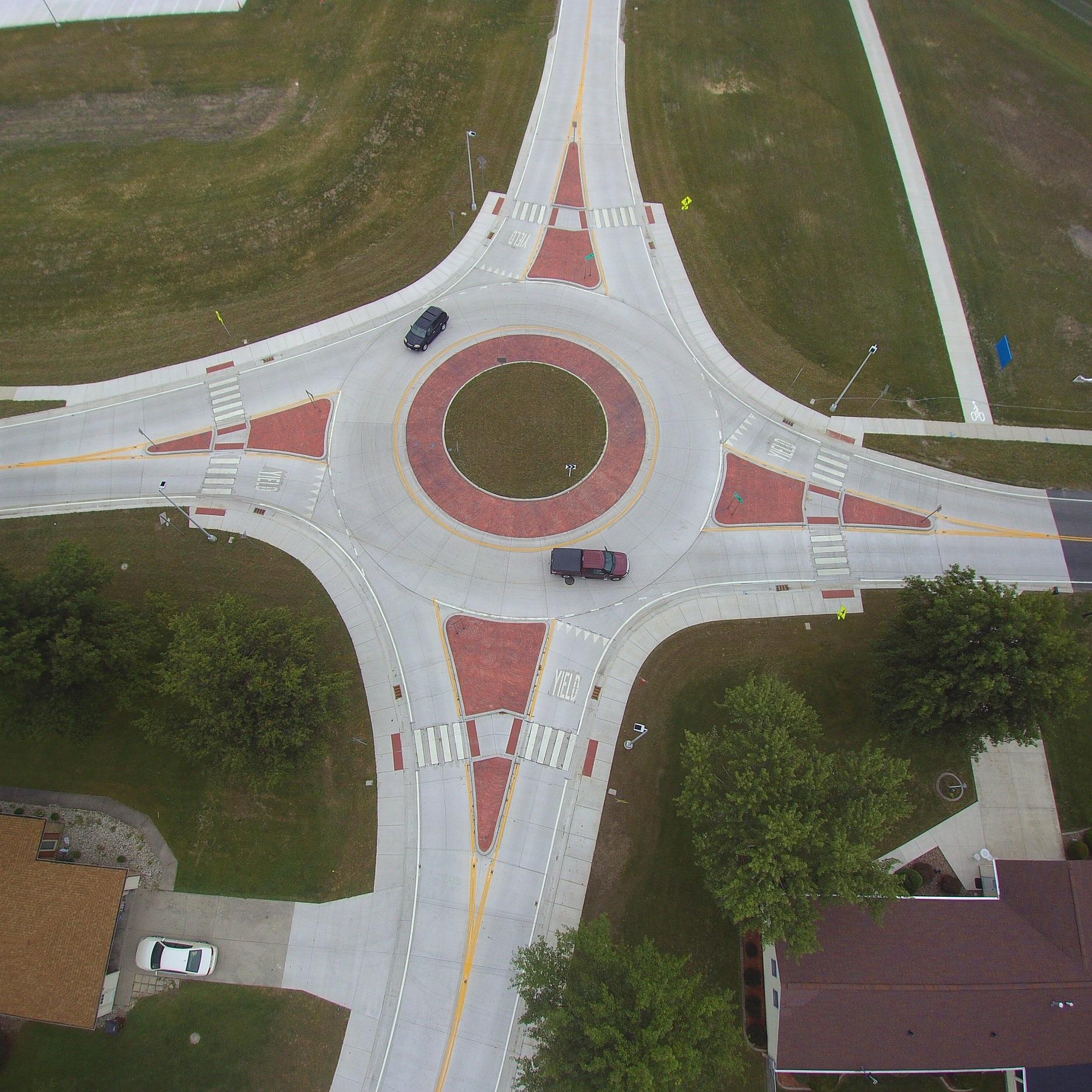 Defiance City Schools Roundabout -