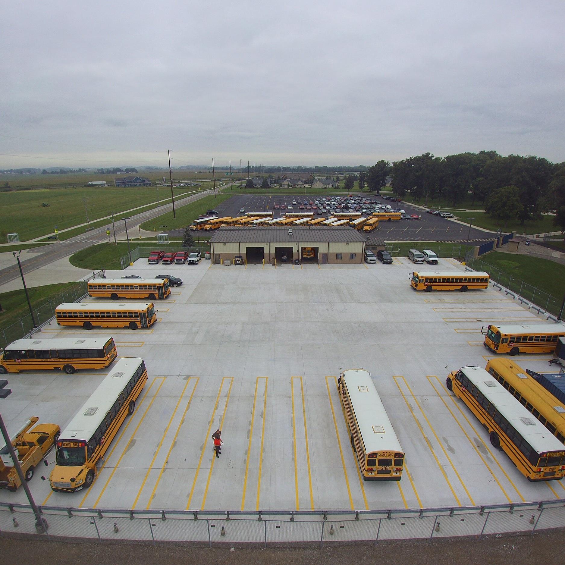 Napoleon Schools Transportation Garage -