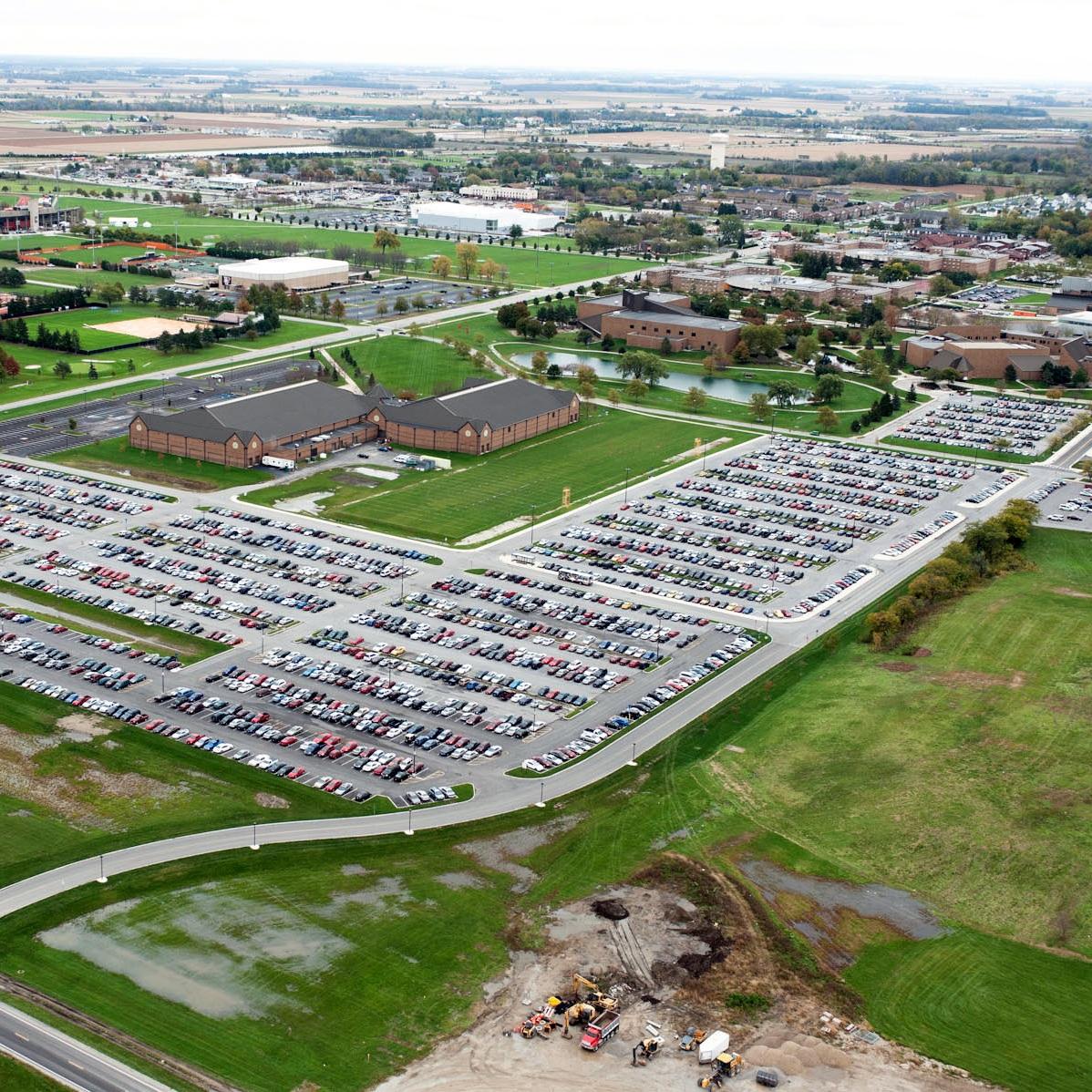 BGSU Parking Lot 5 & 12 Expansion -