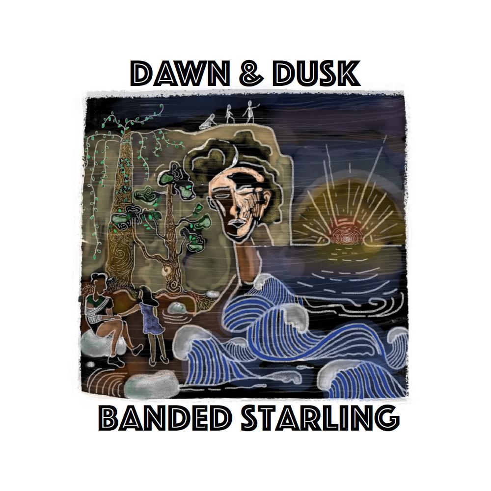 Banded Starling - Dawn & Dusk art by Khim Fam bigger.jpg