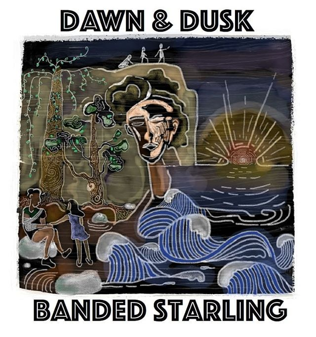 IT IS OUT AND RELEASED INTO THE WORLD!! HUGE THANK YOU TO @khimthefam for our mind blowing song art, @alexfammusic for adding her masterful violin and THE MAN - @gjdiggle for producing, recording, mixing, AND MASTERING our vision into life! . . . . . #localmusic #newmusic #bandedstarling #folkyeah #indieartists #single #art #singleart #youarenotalone