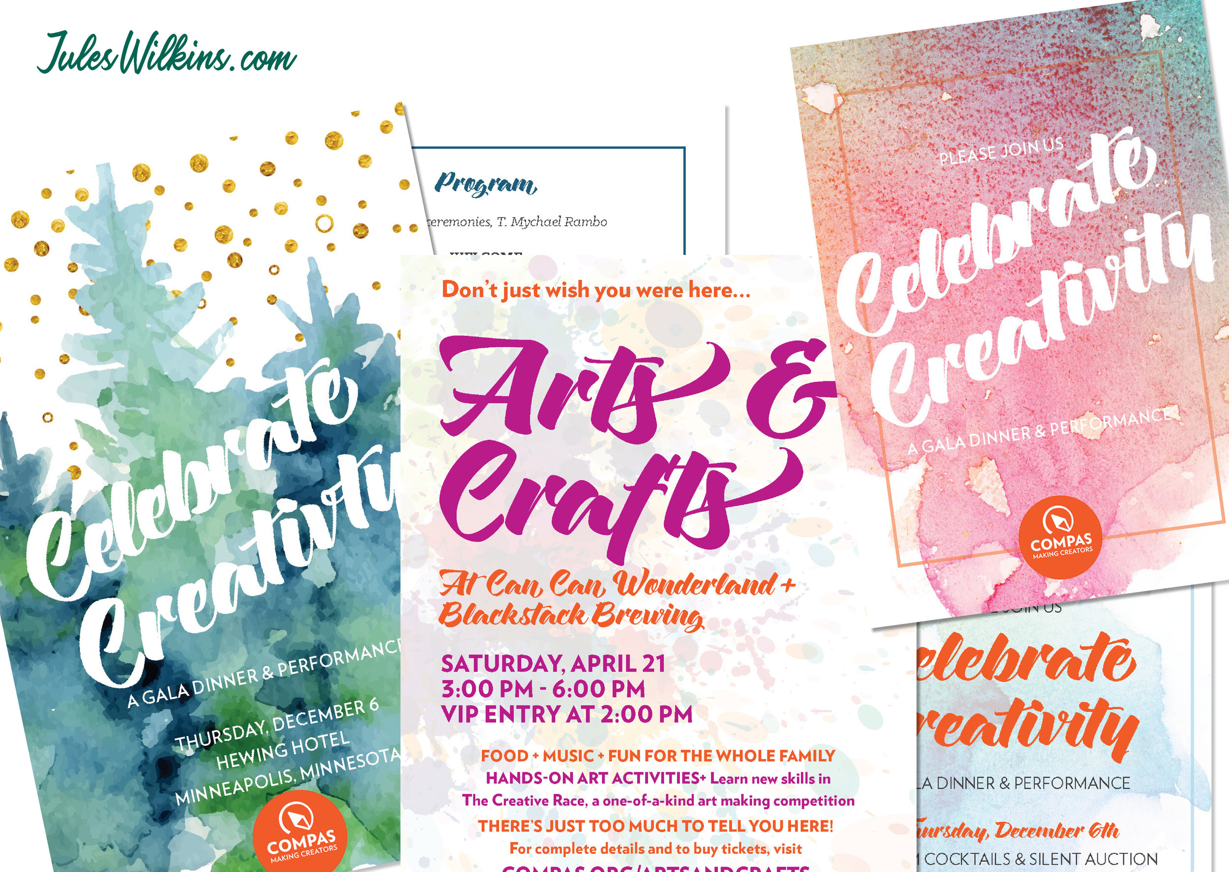 Events - Get the invitations, programs, and other event materials you need to set your fundraising event apart.