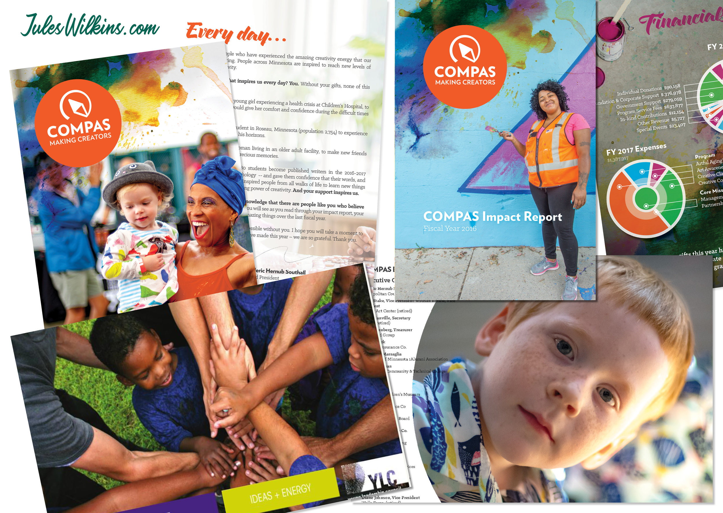 Annual Reports - Dazzle your donors with an Annual Report that makes them proud to be supporters — and motivated to give again.
