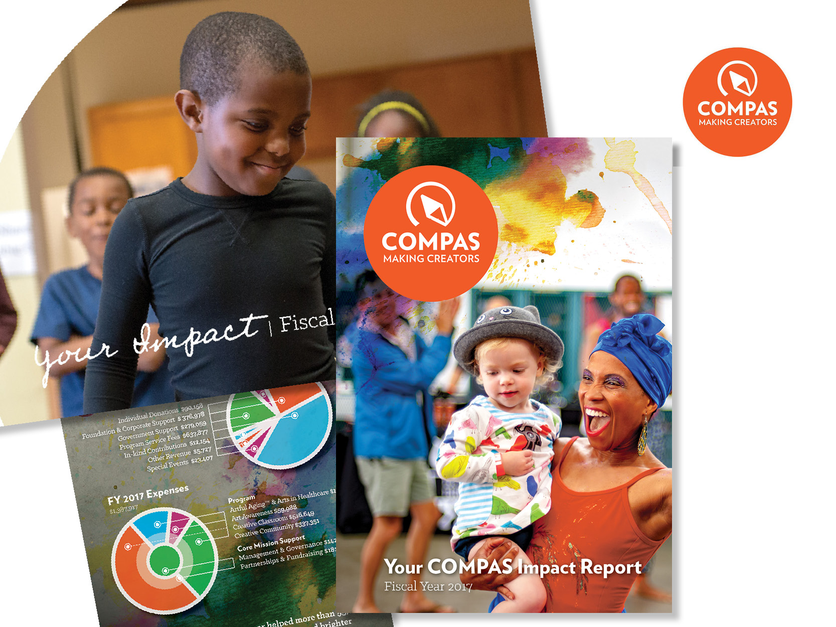 COMPAS  - Strategy, copy, and design for Annual Reports