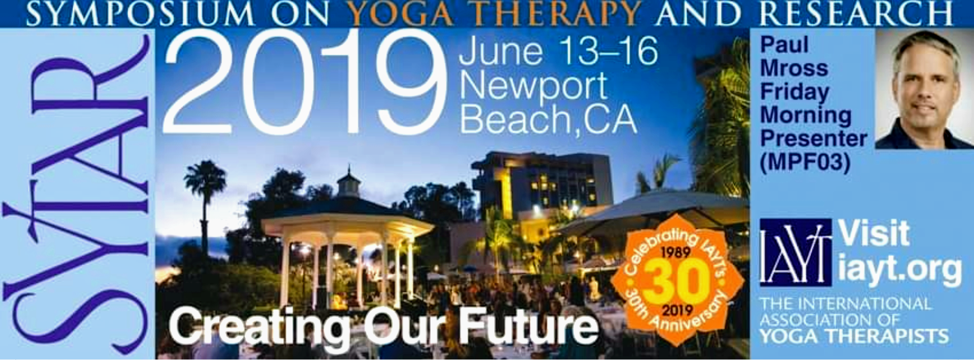 SYTAR 2019 - June 13-16, 2019 at Newport BeachI am very excited to be both a presenter and sponsor for this year's SYTAR event. We will have the latest Happ:y products available to view and purchase. Please come by my booth and visit me.