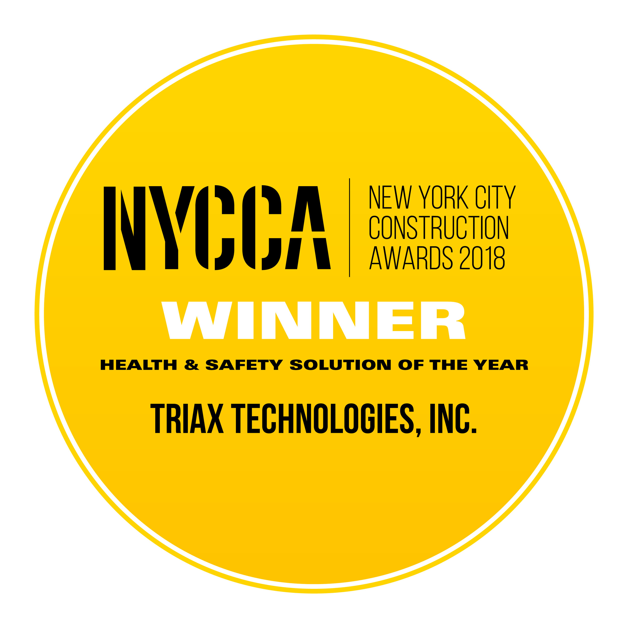Triax Technologies, Inc. - Health & Safety Solution of the Year