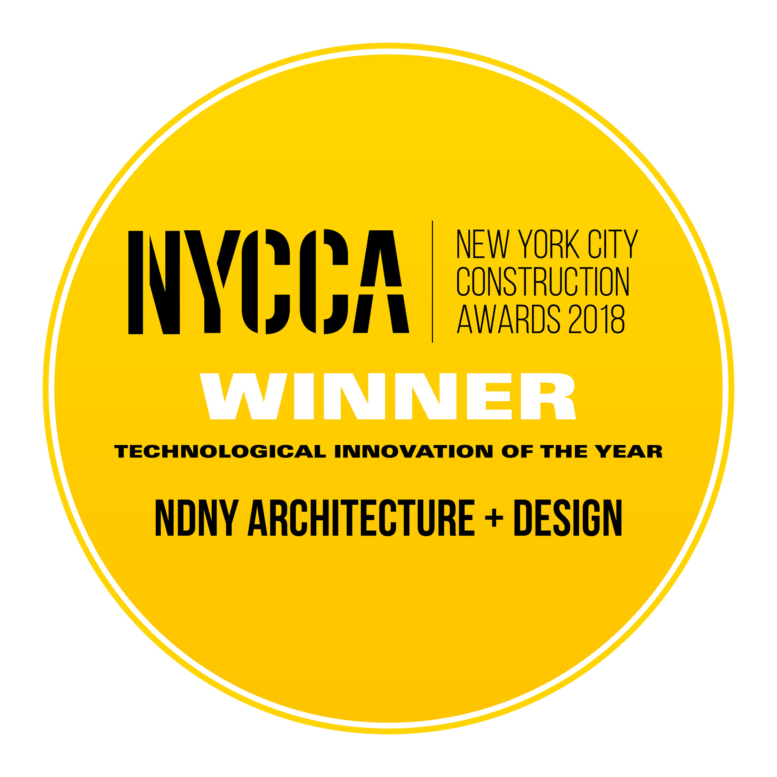 NDNY ARCHITECTURE + DESIGN - Technological Innovation of the Year