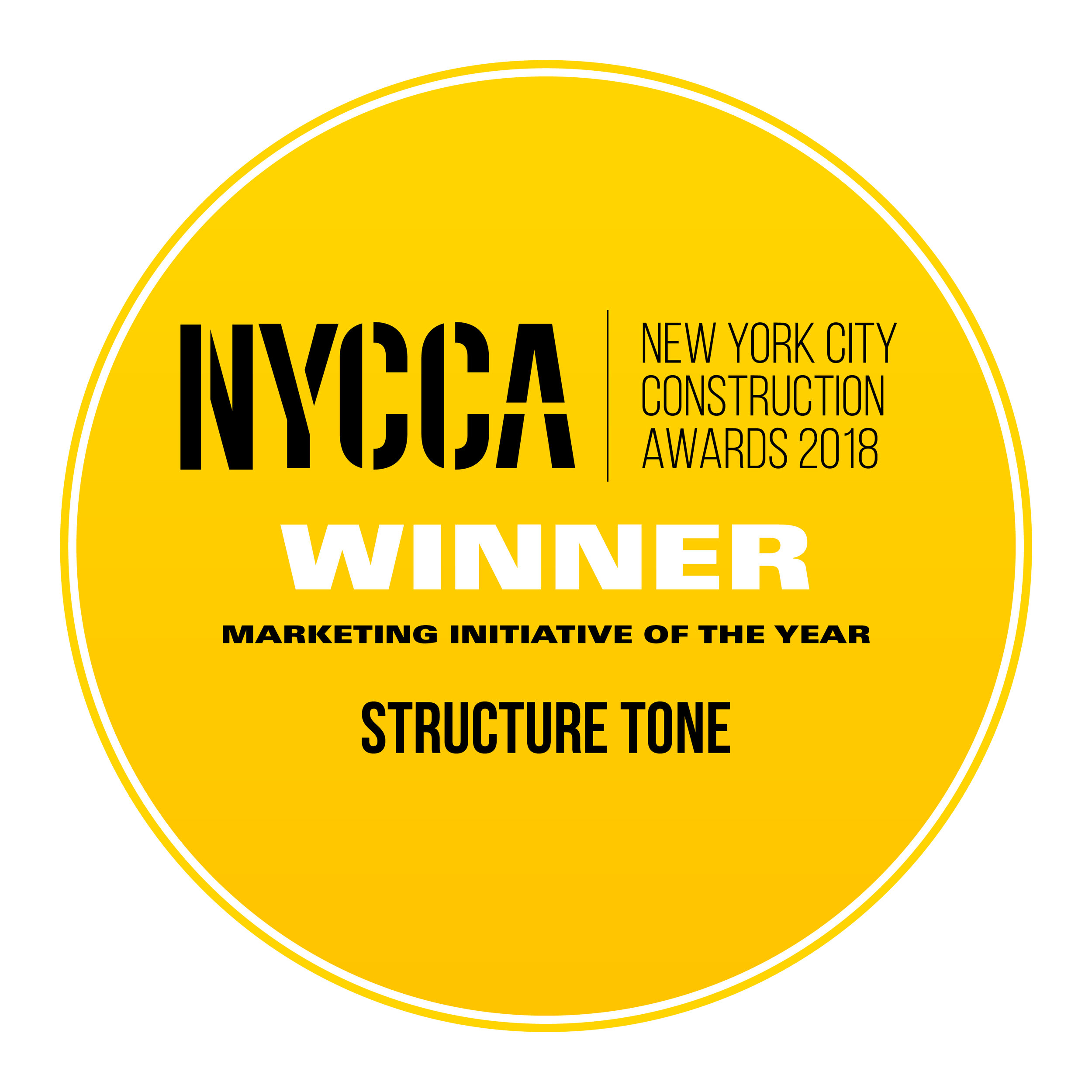 Structure Tone - Marketing Initiative of the Year
