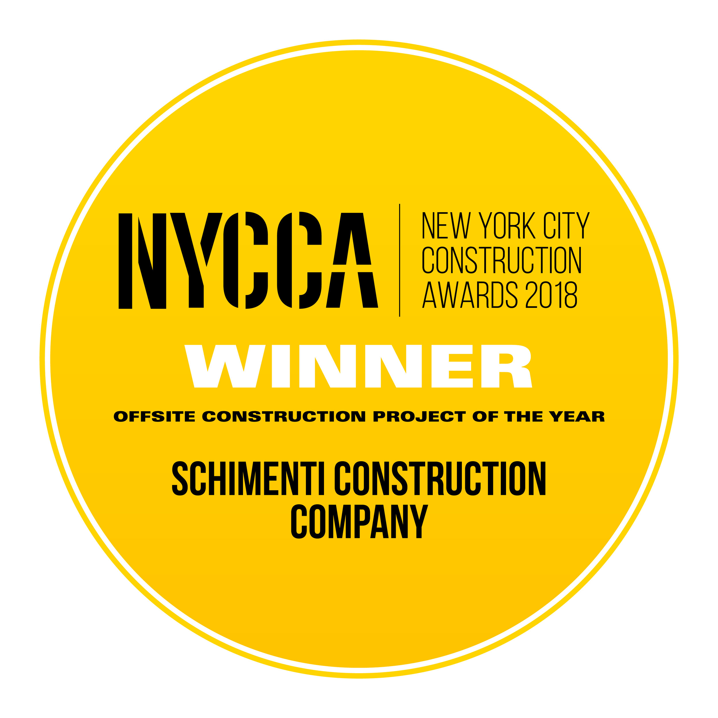 Schimenti Construction Company - Offsite Construction Project of the Year