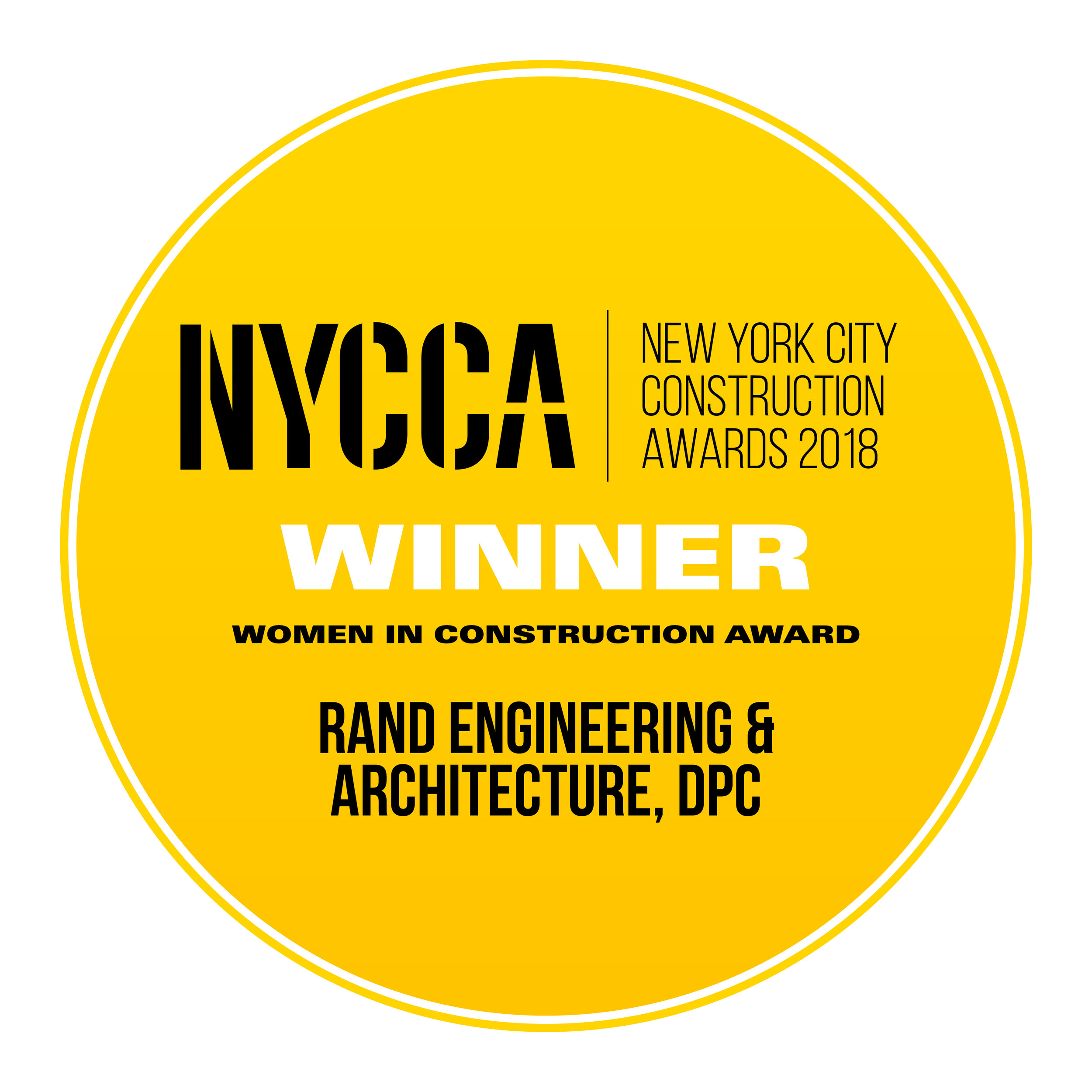 RAND Engineering & Architecture, DPC - Women in Construction Award