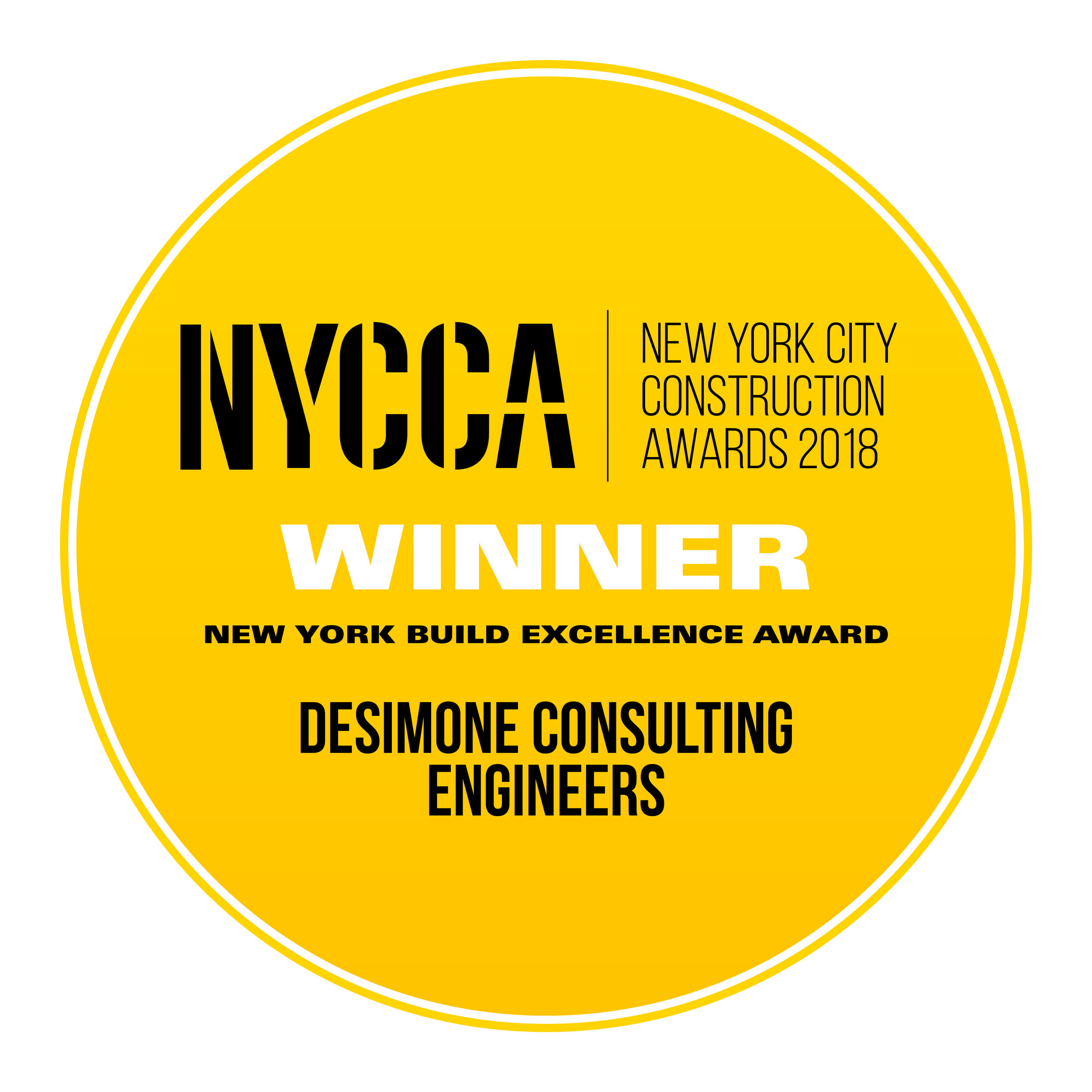 DeSimone Consulting Engineers - New York Build Excellence Award