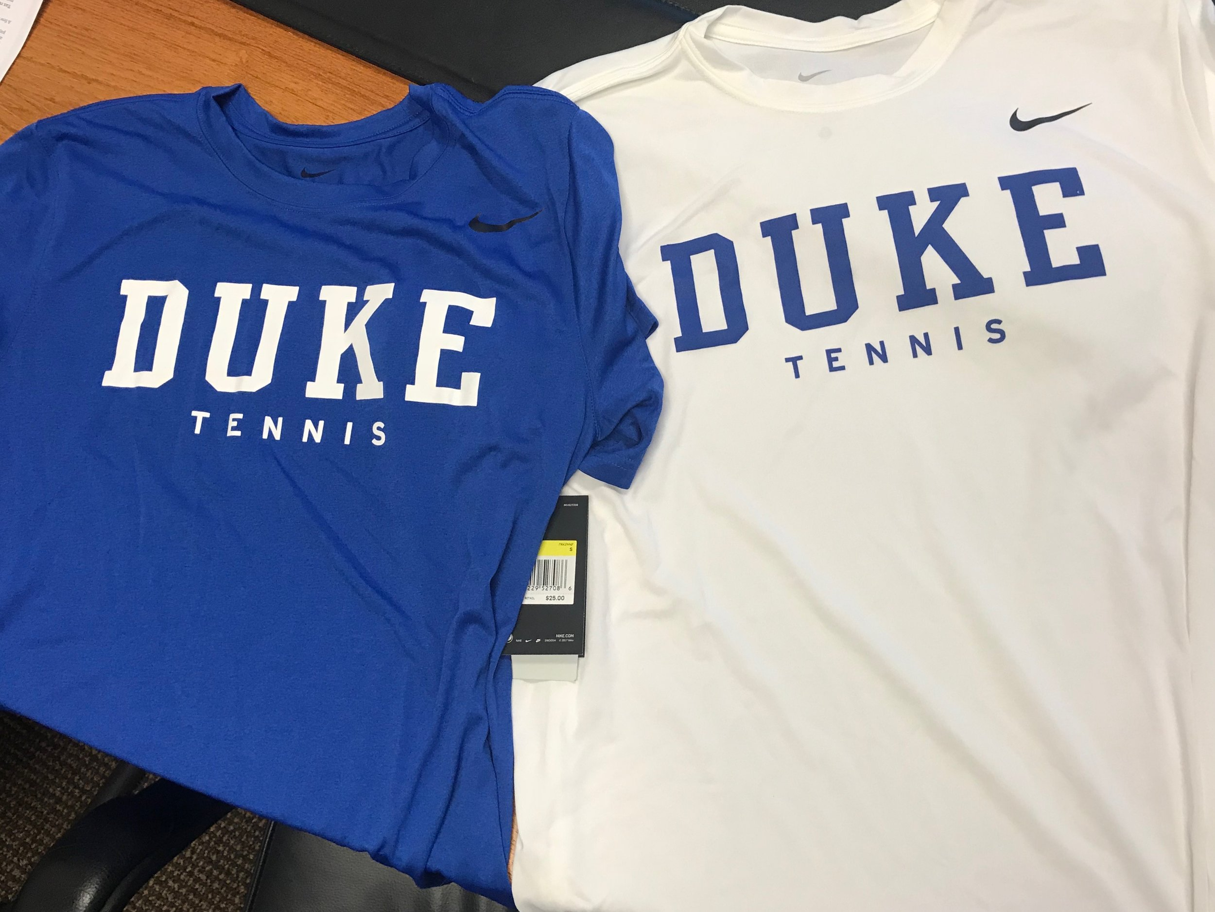 Nike Duke Tennis Tees