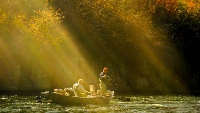 Float fishing on the Henry's Fork in September
