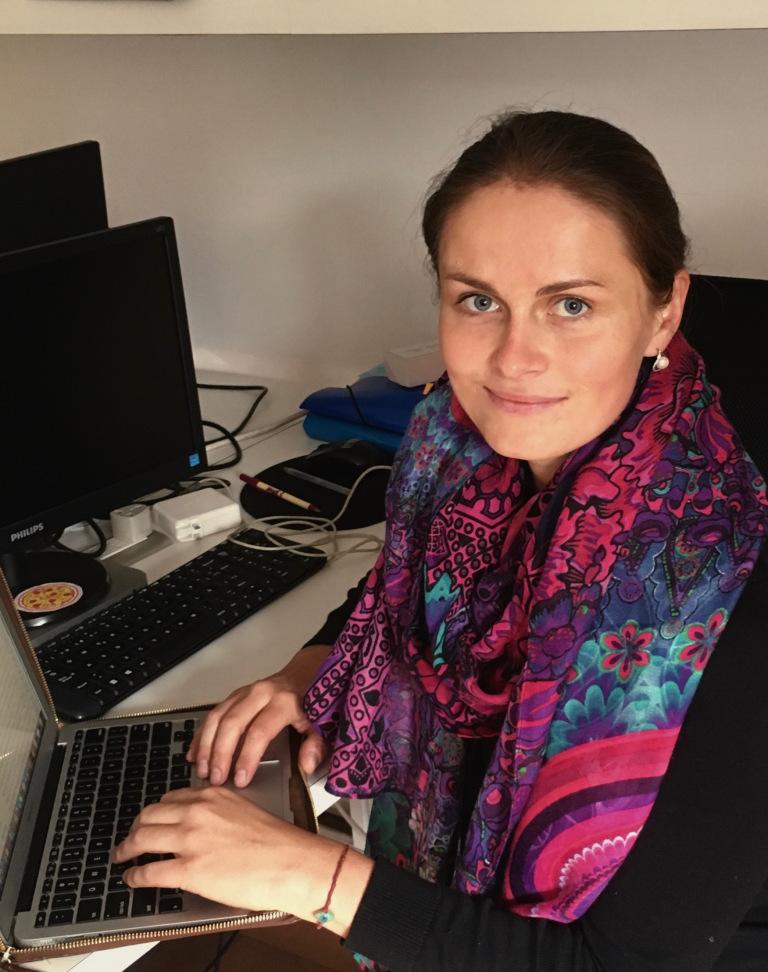 Olga Khrustaleva is a PhD student at American University's School of Communication