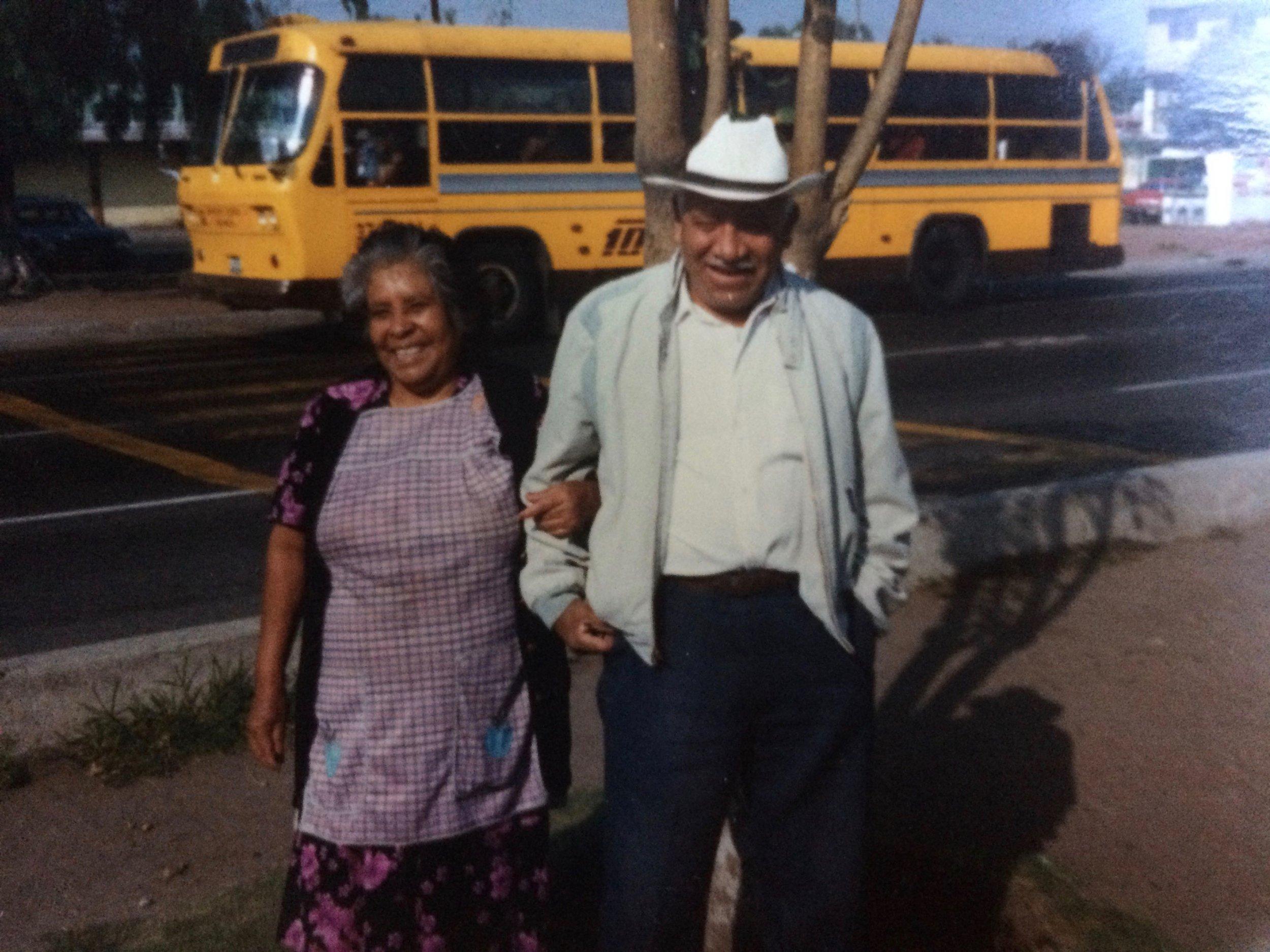 Mamá and Papá Soto Lopez