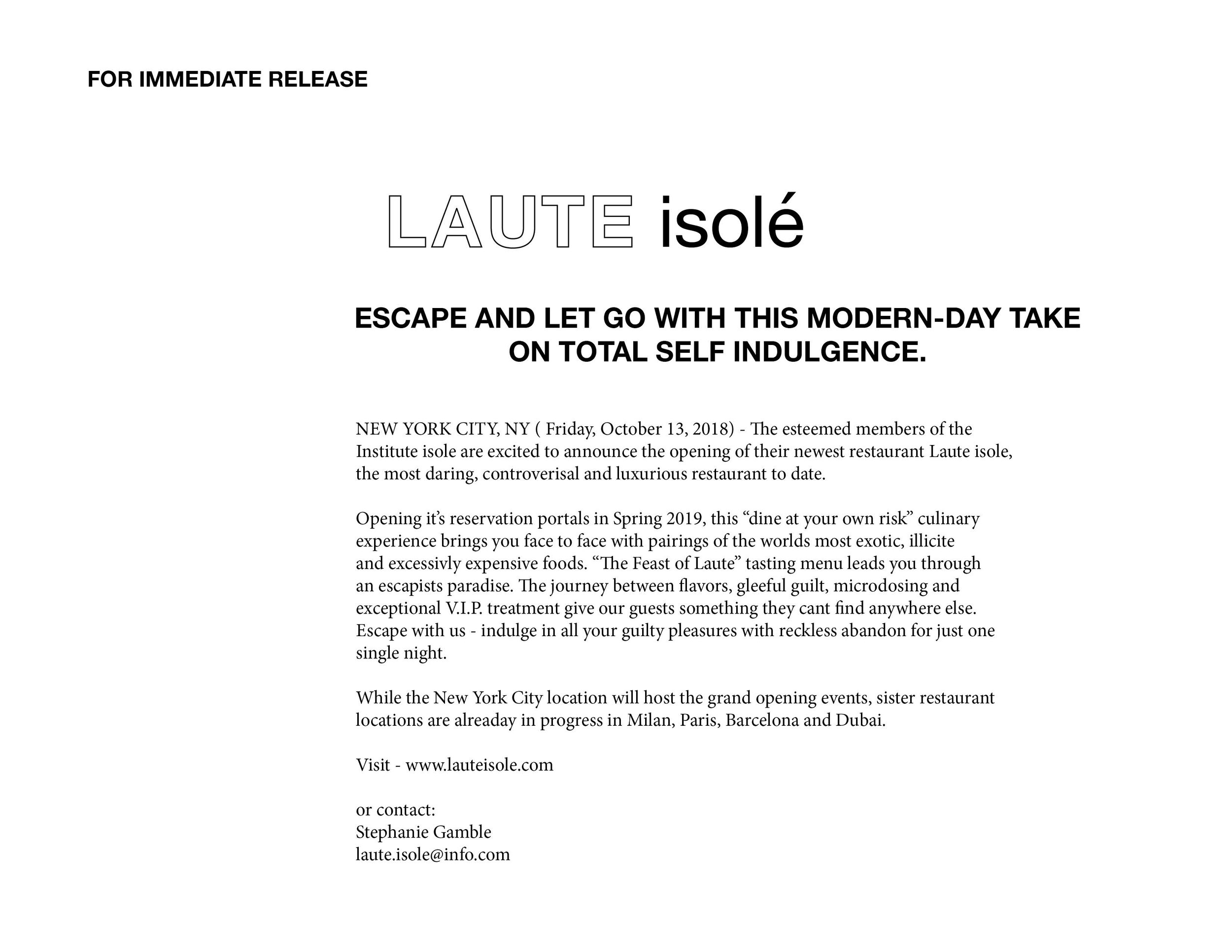 Laute isole press release.jpg
