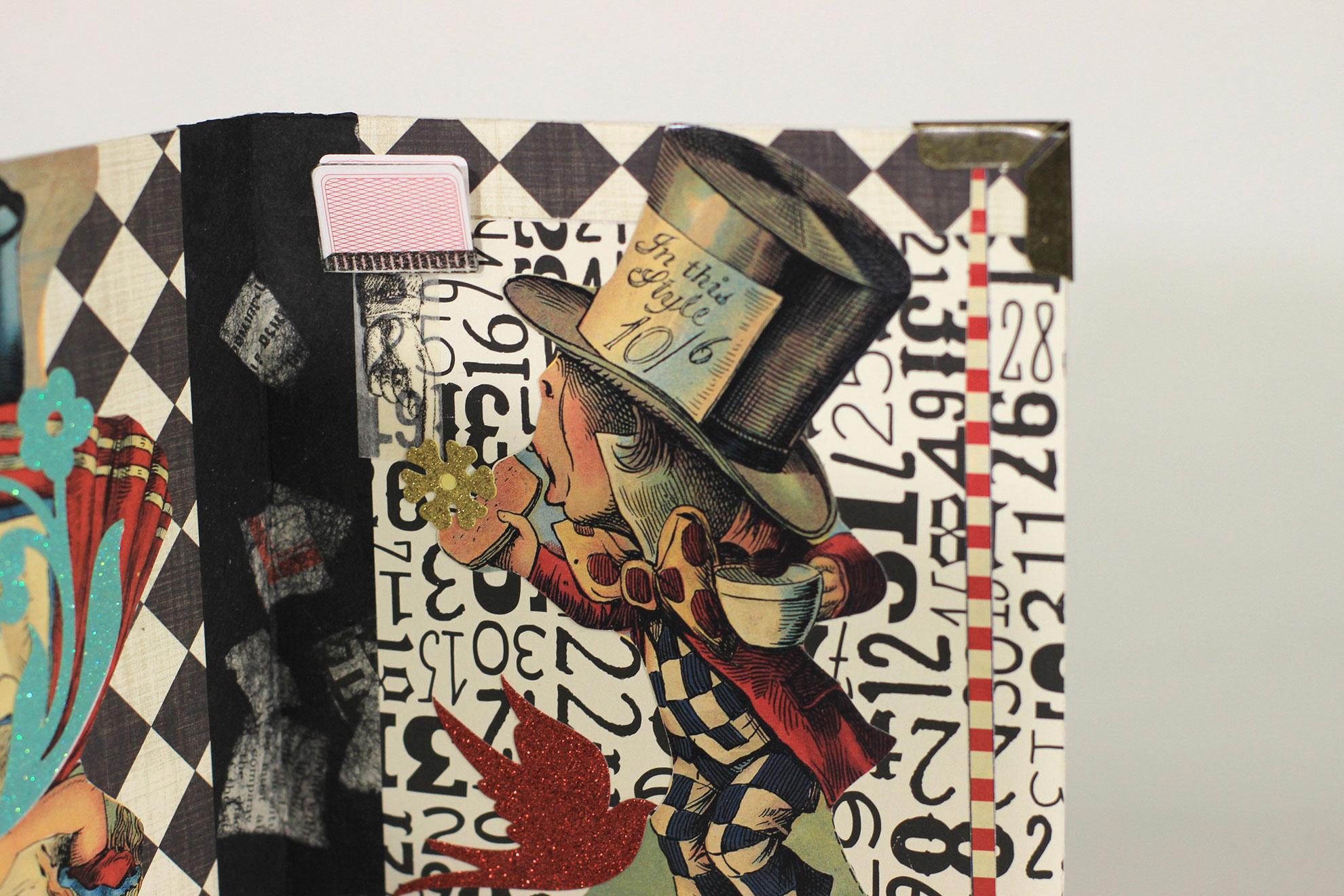 """Ali Hansen, \""""Ali-ce,\""""Paper, collage, 2018, $50, Benton Harbor, MI"""