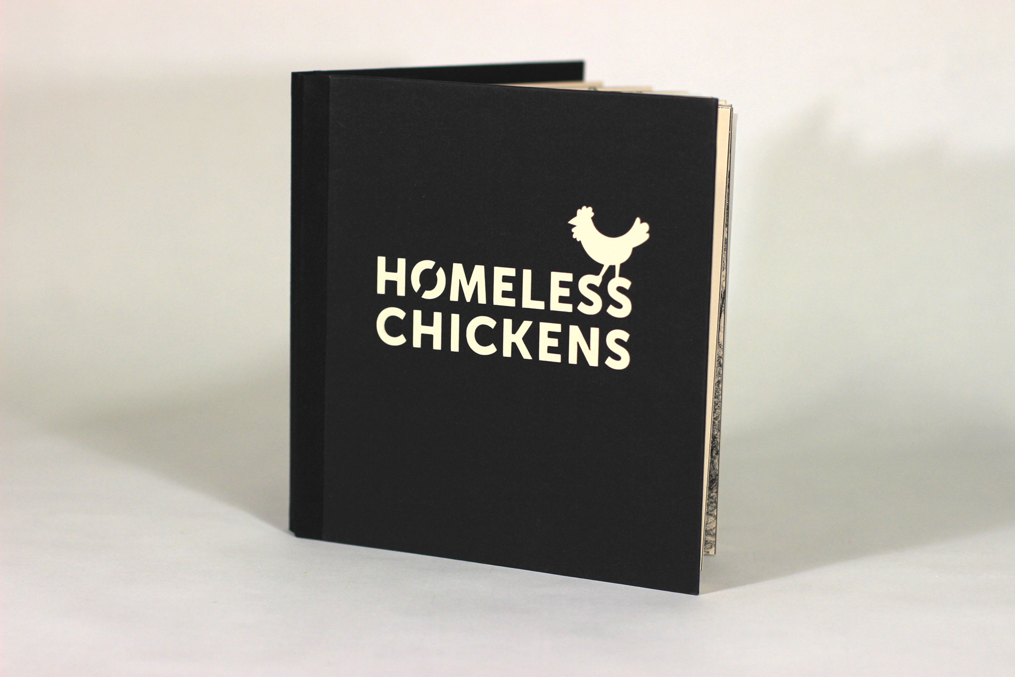 Jihae Kwon, Homeless Chickens, lithograph and digital printing, 2017, $900, Laie, HI