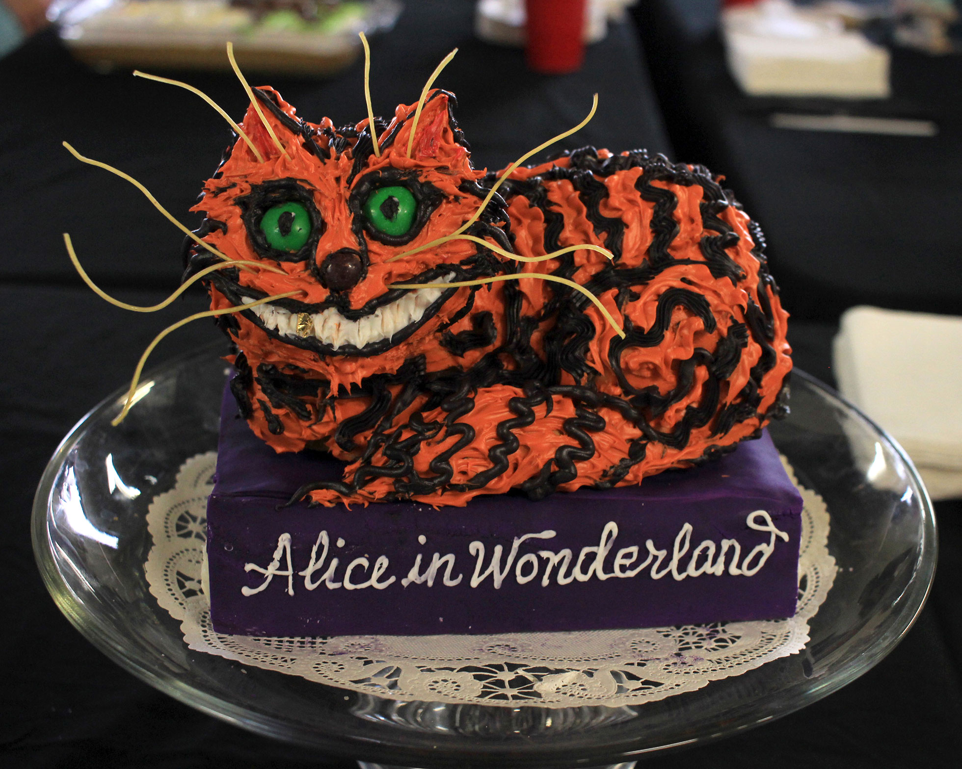 """Chris Orsolini, """"Alice in Wonderland, Cheshire Cat"""" People's Choice"""