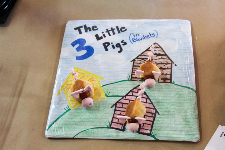 Three Little Pigs in Blankets
