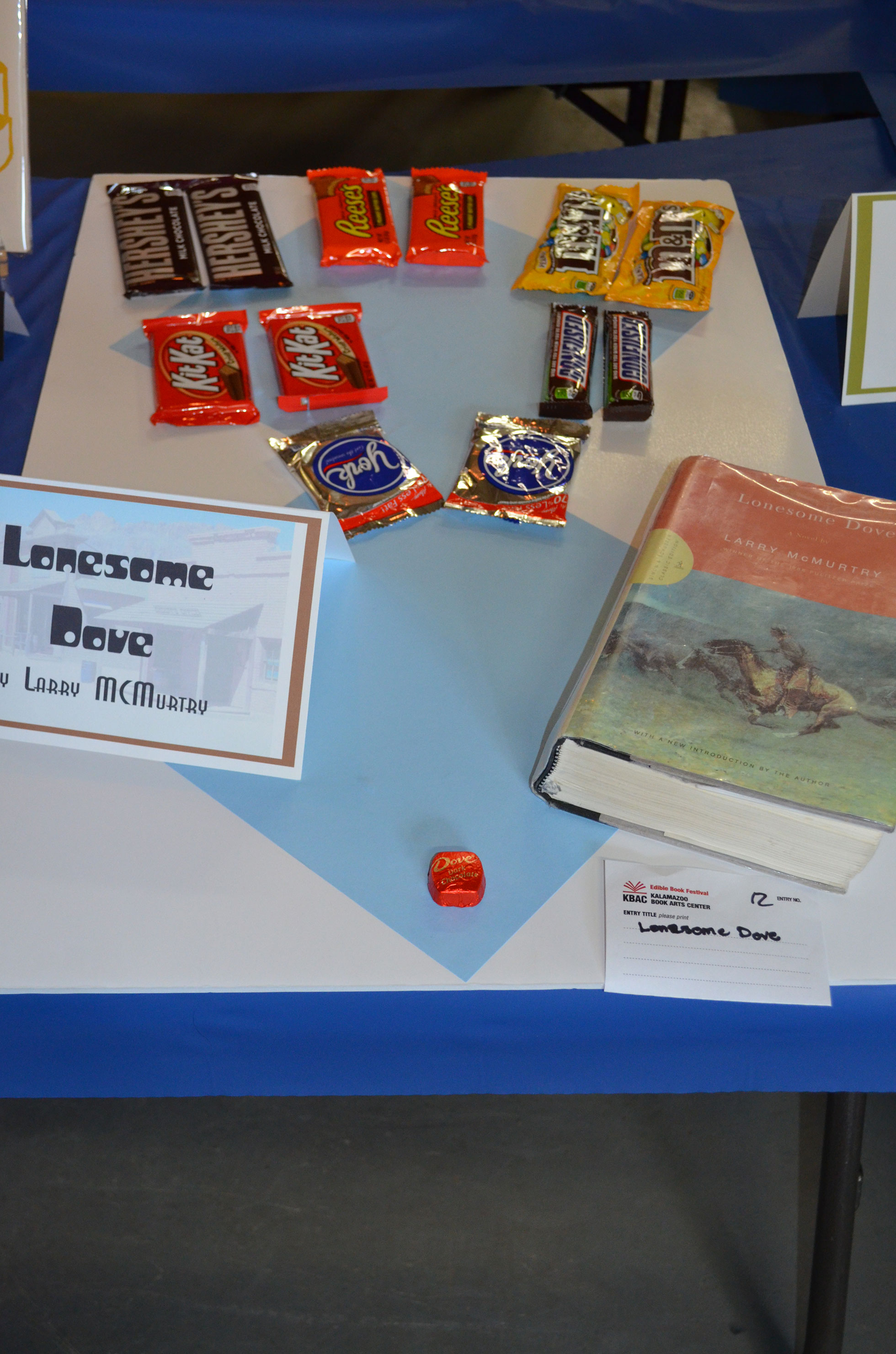 """The Lonesome Dove"" by Brown Sugar Book Group; 2016 Edible Book"