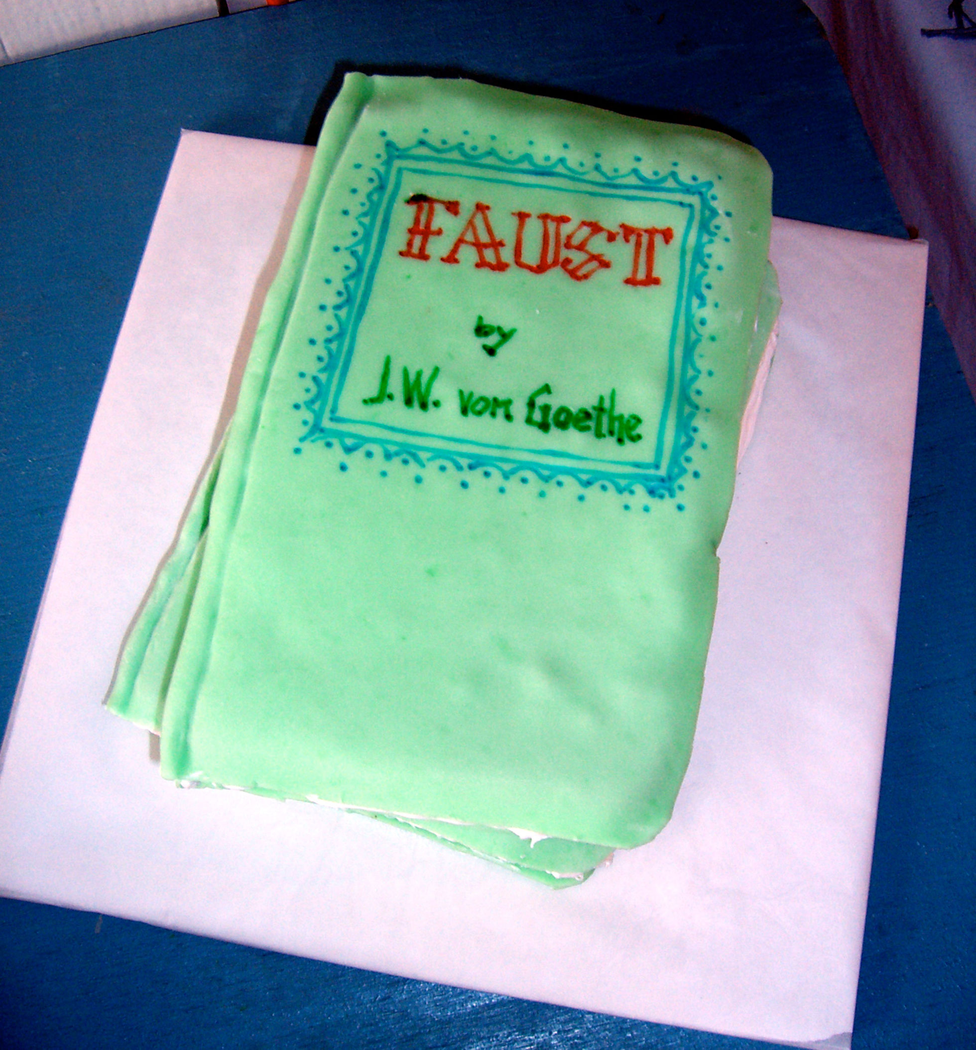 """Faust"" by Liz Faust; 2006 Edible Book Festival entry"