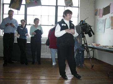 2006 Edible Book juror, Eve Reid