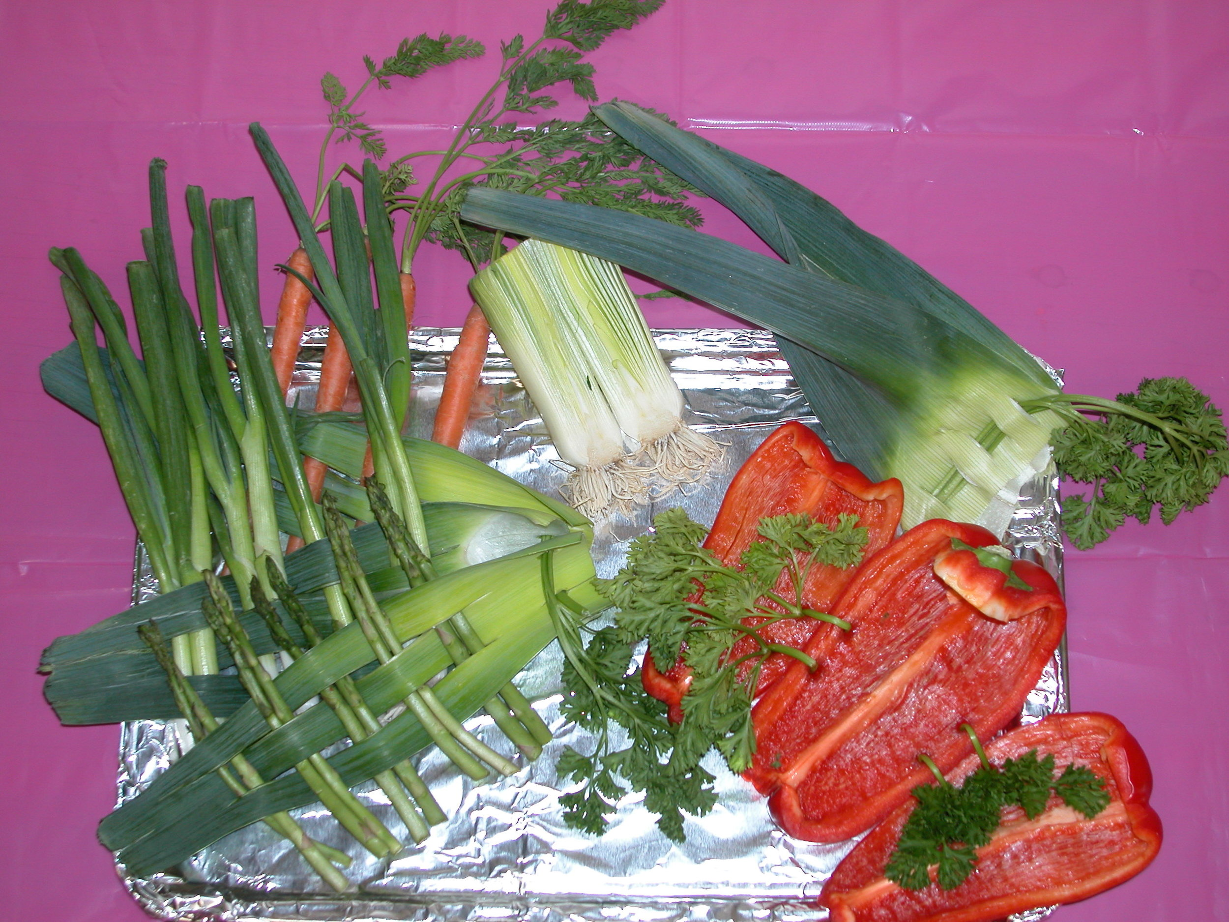 """Veggie Tales"" by Marianne Swierenga; 2007 Edible Book Festivall entry"