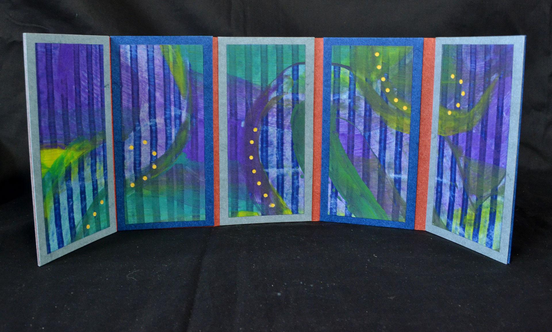 Lorrie Abdo, Starry Night, Paper, $50, Portage, MI