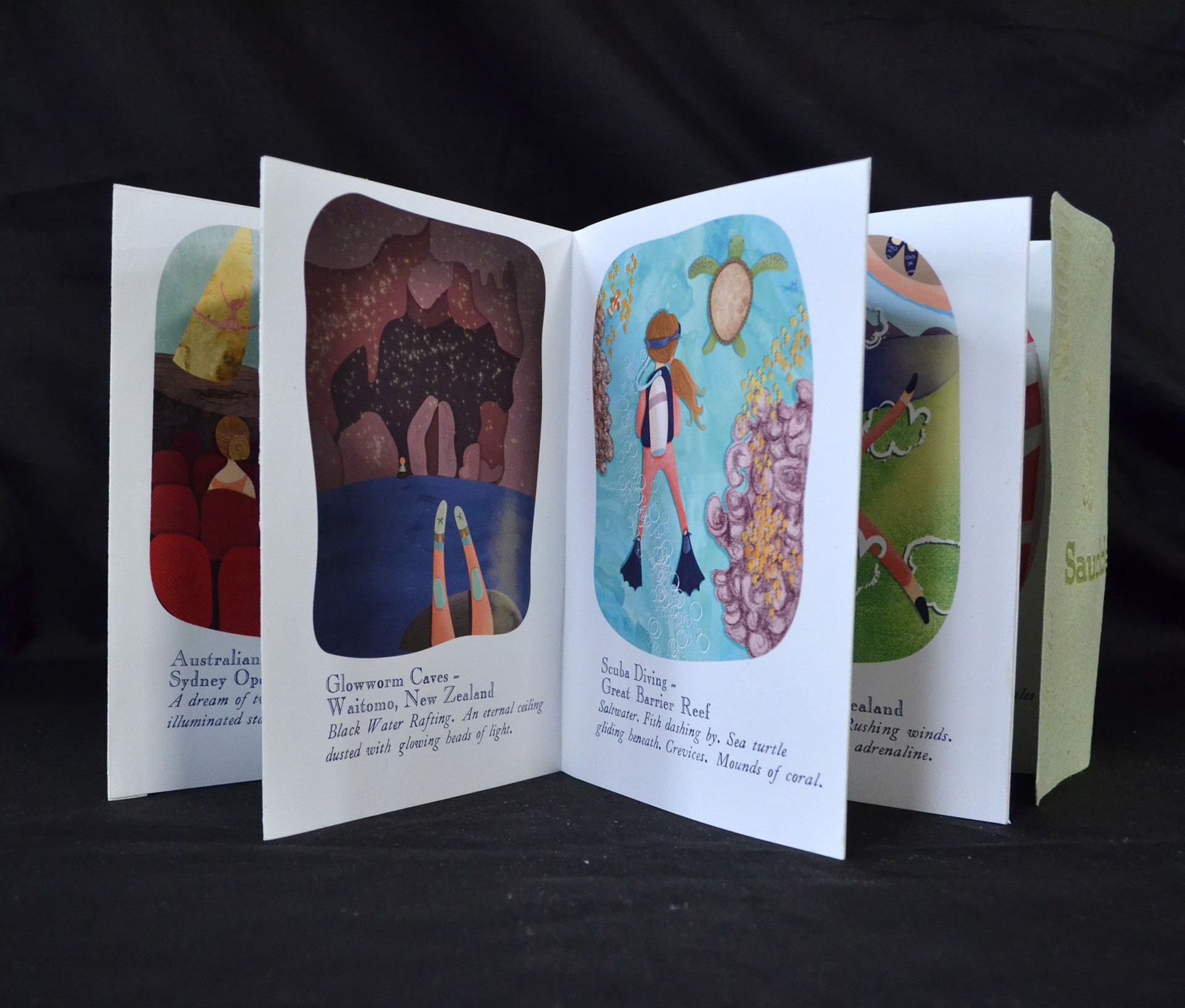 Chesley Jean Chapman Saudade, Letterpress and Digital, 2016