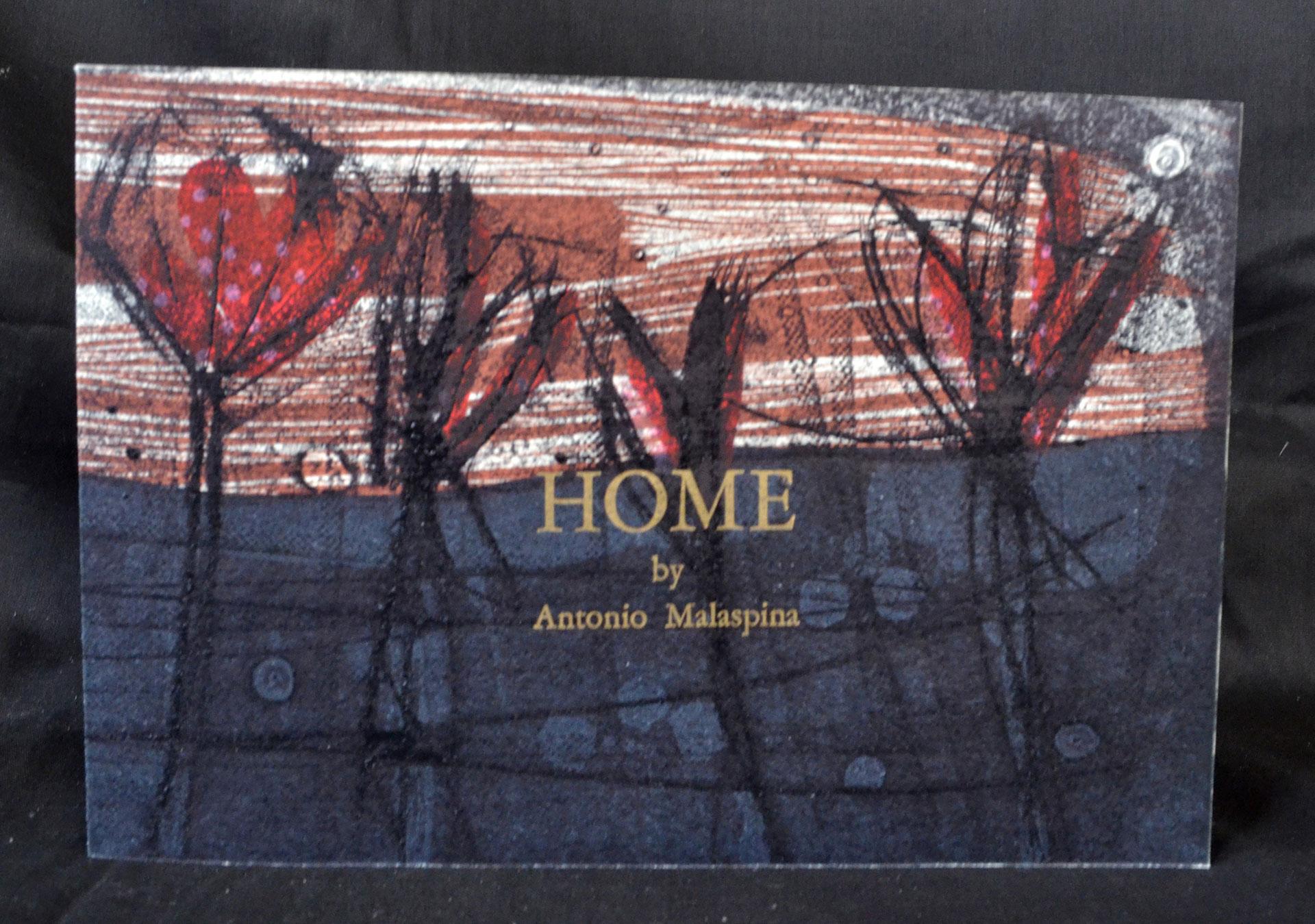 Antonio Malaspina, Home, Letterpress, Screenprint, Woodcut, Engraving, 2016, $250, Larino, IT