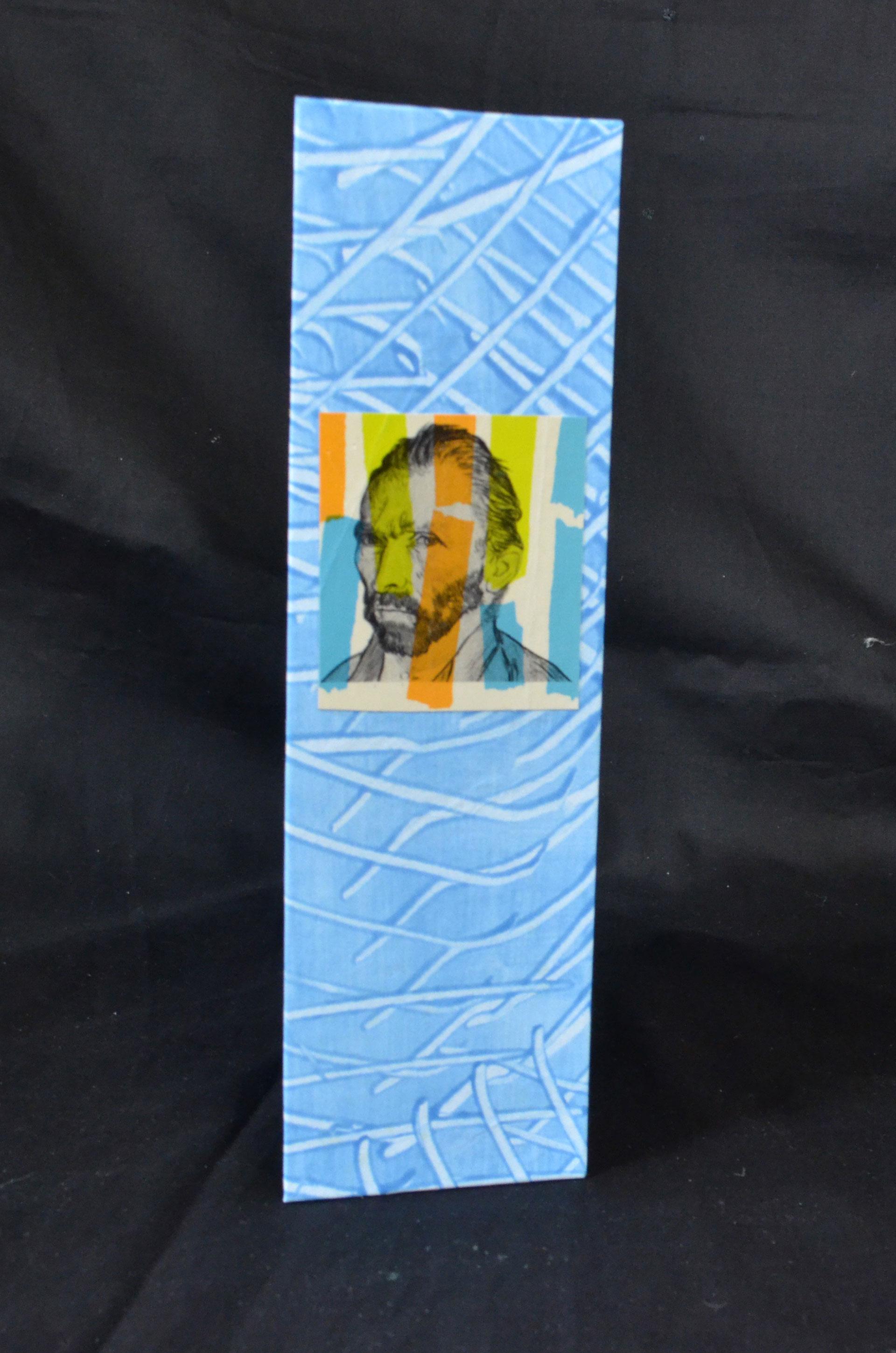 Ivie Martin, Van Gogh's Letters, flag book, Kalamazoo, MI