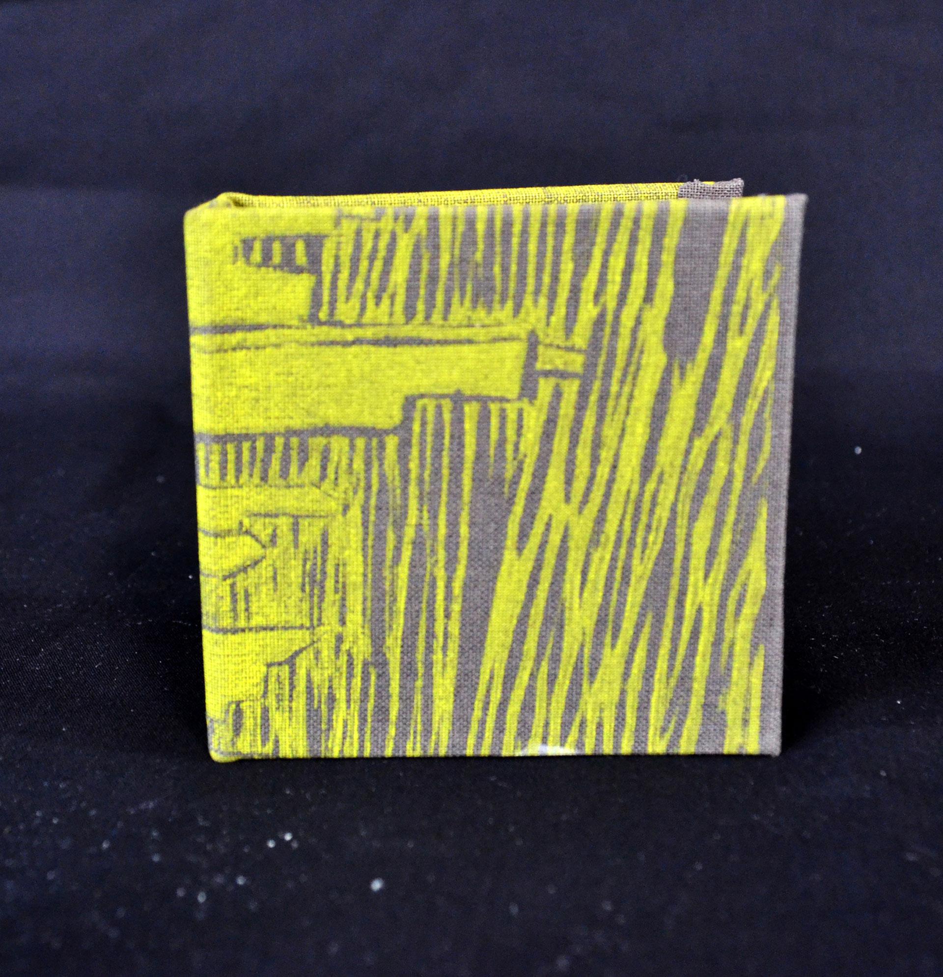 """Natalie Johnson, """"Chicago,"""" handmade paper, 2014"""
