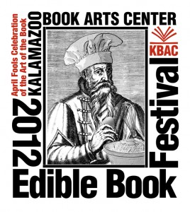 2012 Edible Book poster by Keith Jons