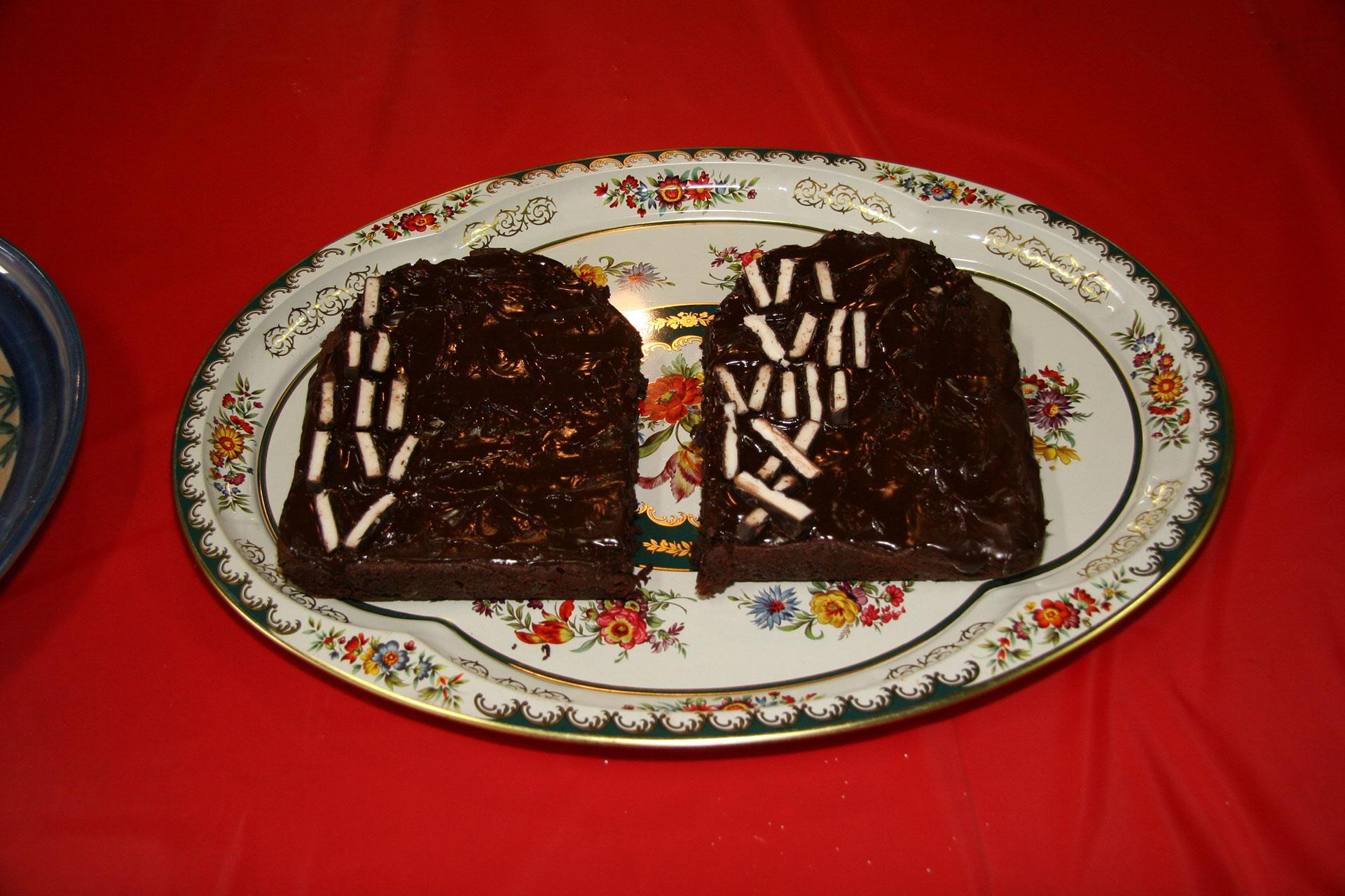 """Ten Commandmint Brownies"" created by Linda Mah and the Bus Up Roadies; 2011 KBAC Edible Book entry"