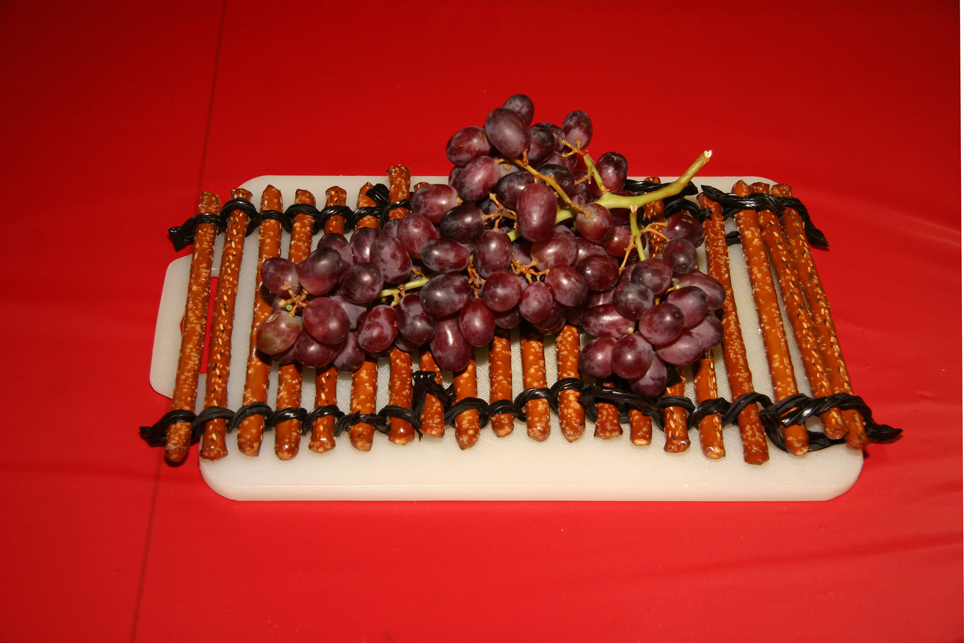 """""""The Grapes of Wraft"""" created by Kay Ellen Davis; 2011 KBAC Edible Book entry"""