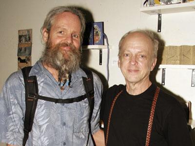 Winner Dennis Flatt with David Small