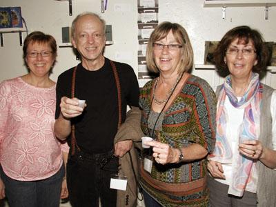 David Small presented the Tiara Book Club entry the Peoples Choice Award