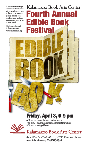 2009 Edible Book poster by Keith Jones