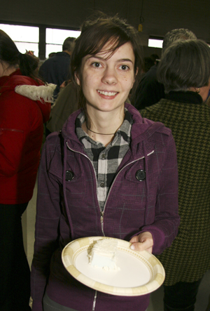 Missy Sander, winner 2009 Edible Book Award