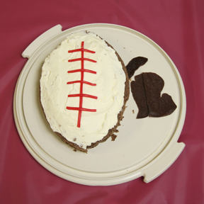 """Michigan Football"" by the Brown Sugar Book Club; 2009 Edible Book Festival entry"