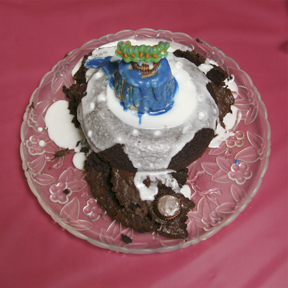 """Marooned"" by Conrad Knapf; 2009 Edible Book Festival entry"