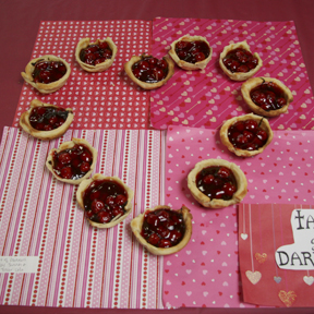 """Tart of Darkness"" by Trevor Cole; 2009 Edible Book Festival entry"