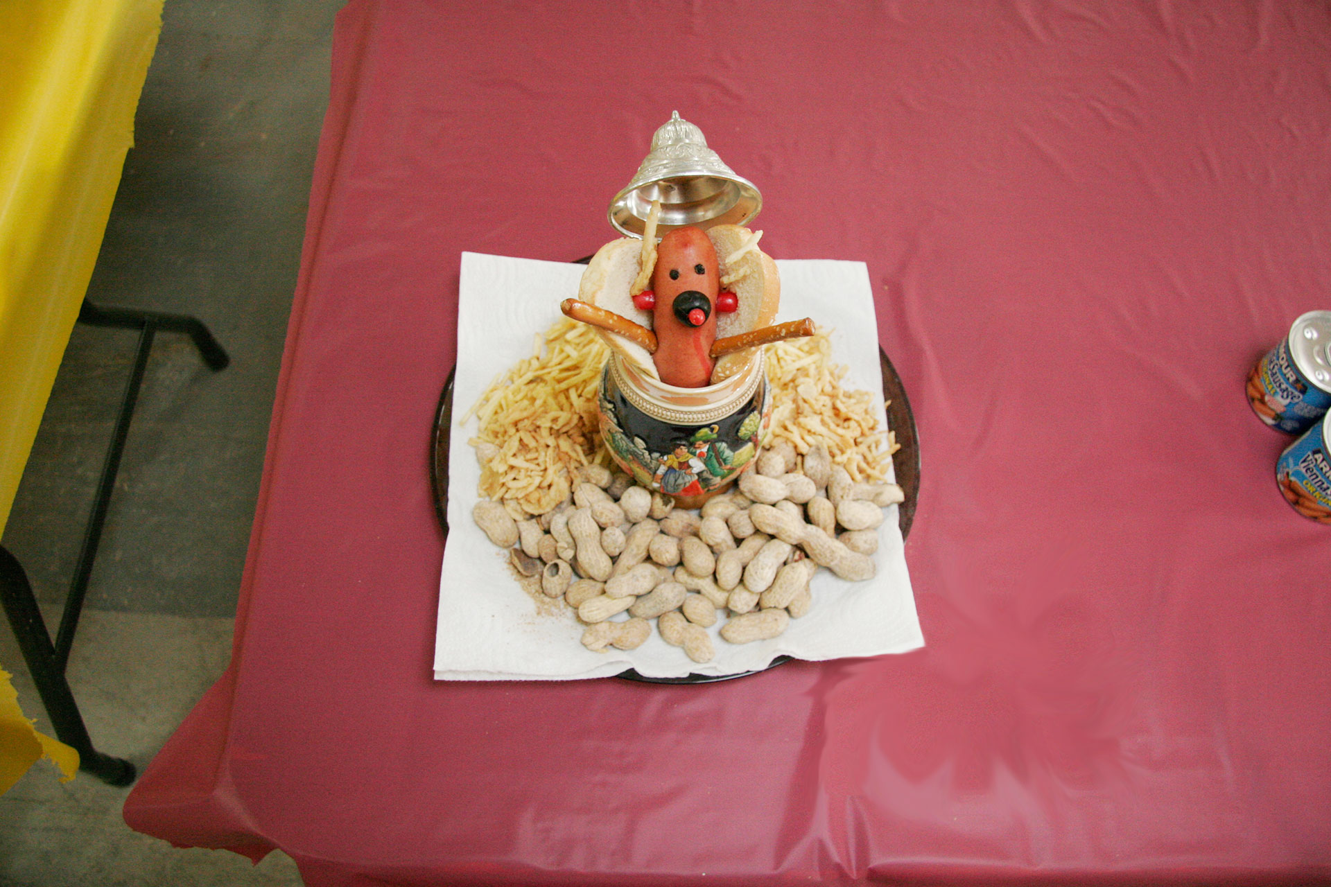 """Frank-in-Stein"" by Keith Jones; 2008 Edible Book Festival entry"