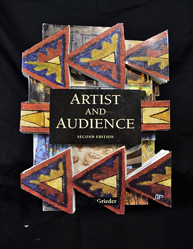 David P. Gieske,  Artist and Audience , Altered Book