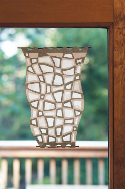 Helen Hiebert, Window Weaving