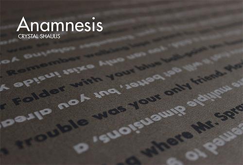 Anamnesis, Crystal Shaulis